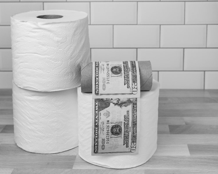 The Cost of Toilet Paper Skyrocketed During the Pandemic